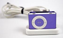 Apple iPod Shuffle 2nd Gen A1024 Purple 1GB - $44.54
