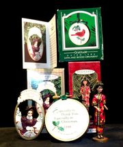 Hallmark Handcrafted Ornaments 1997 BARBIE & 1986 Gratitude AA-191773 Collectibl image 10