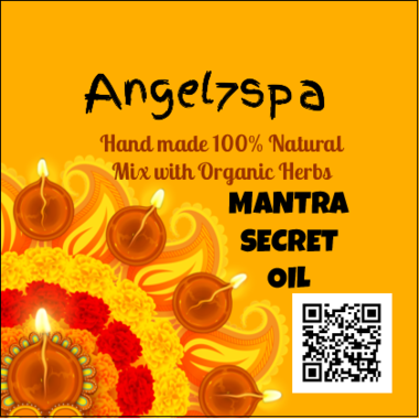 Spellbound Mantra Secret Oil hand made by angel7spa