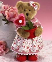 "Boyds Bears ""Valerie Bloominlove"" 12"" Bear of Month- Feb 2009- #4016880- New - $49.99"