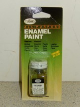 TESTORS MODEL ENAMEL PAINT- 1164C- FLAT O.D. GREEN- 1/4 FL.OZ- NEW- L74 - $4.06