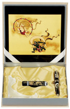 Maki-e Urushi Japanese Stationary set Wave Mouse pad USB Drive Pen Frame... - $201.61