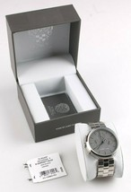 Vince Camuto VC/1098GYSV Men's Multi-Function Gray Dial Stainless Steel Watch image 2