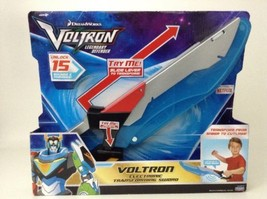 Voltron Lights Sounds Transforming Sword Halloween Cos Play New Playmates - $26.68