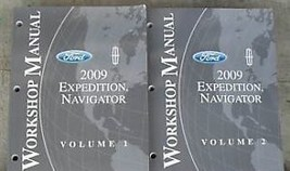 2009 FORD EXPEDITION & LINCOLN NAVIGATOR Repair Service Shop Manual Set ... - $27.71