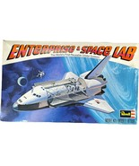 VTG 1978 Space Shuttle Enterprise & Space Lab Model Kit,Revell H-200 W/ ... - $29.69