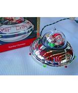 VTG 1990 Hallmark MAGIC Keepsake Ornament STARSHIP CHRISTMAS Santa LIGHT... - $17.81