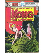 Kong The Untamed Comic Book #4 DC Comics 1976 FINE+ - $4.75