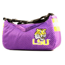 LSU Tigers Purse Jersey Material Mesh NCAA Handbag Bag Purple Strap New SEC - $13.81