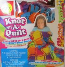 ALEX Toys - Craft, Knot A Quilt Kit, 383WN OPEN BOX - $19.79