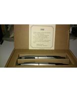 Beautiful Vintage Cross Pen / Pencil Set - Satin / Black Tri-Grip Perfec... - $54.95