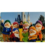 Vintage Postcard, Disney World, Fairy-Tale Friends, Magic Kingdom - $13.99