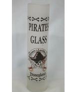 "Disney Shot Glass 7 1/2"" Tall Disneyland Pirates or the Caribbean  - $16.72"