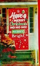 "Christmas Door Cover Merry Christmas Merry Bright 30""X60"" w - $5.49"