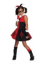 Harley Quinn Jester Superhero Dress Up Halloween Child Costume DC Small 4-6 - $14.84