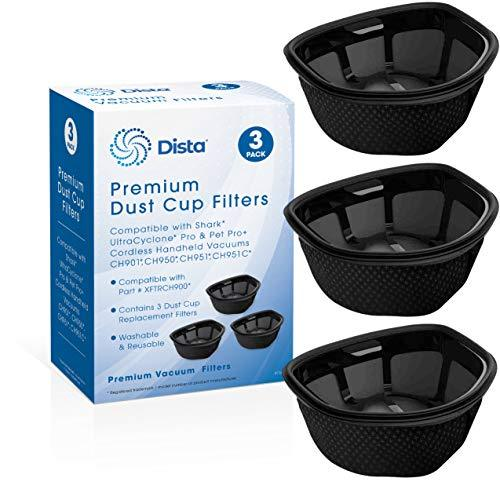Dista Filter - Dust Cup Filter Compatible with Shark UltraCyclone Pro & Pet Pro+