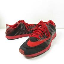 Nike Lunarspider R 3 Mens Size 8 Running Shoes Black/Red/Black 524963-060  - $39.59