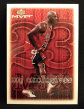 1999-2000 Upper Deck MVP Michael Jordan Basketball Card #200 - $3.75