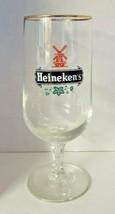Vintage rare 1970's heineken's barware glass 10oz. (33) - $20.99
