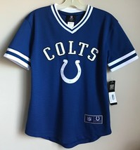 New Indianapolis Colts Youth Football Jersey Size Medium 10/12 Boy's Shi... - $9.94
