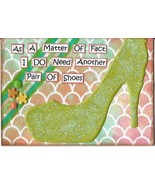 ACEO ATC Art Card Collage Original Ladies Women Need Shoes High Heels  - $5.00