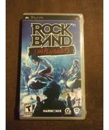 Rock Band: Unplugged (Sony PSP, 2009) Rated T Harmonix 40+ Songs NIP MTV... - $23.16