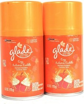 2 Ct Glade 6.2 Oz Limited Edition Cozy Autumn Cuddle Automatic Refill Spray - $19.99
