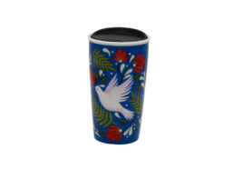Genuine Starbucks Double Walled Ceramic Travel Tumbler 12 oz (Limited Ed... - $19.79