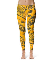 African Tribal Leaves Sport Leggings - $35.99+