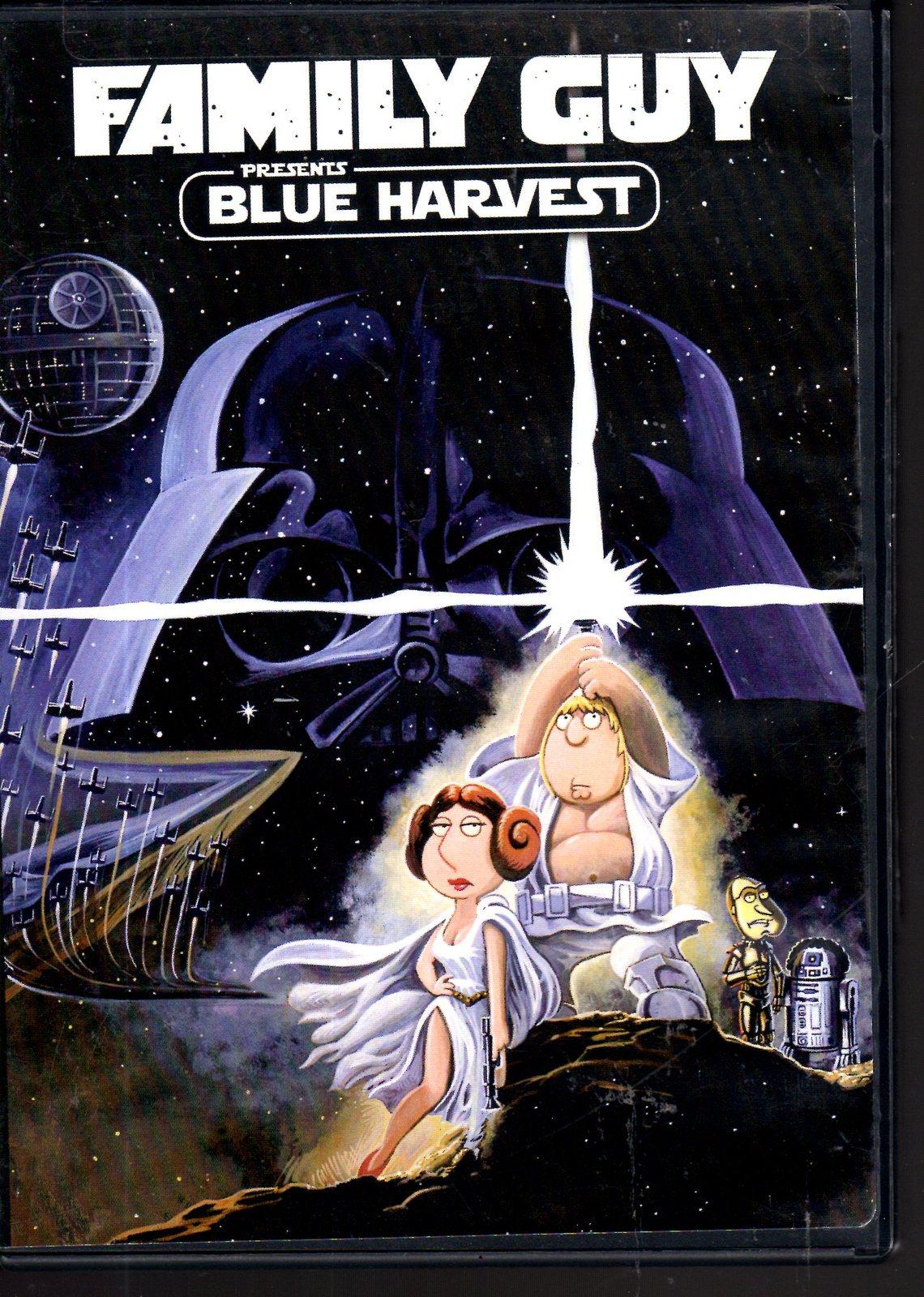 DVD Family Guy Blue Harvest