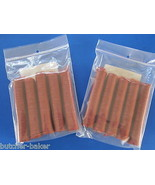 21 mm Snack Stick CASINGS for 50 lbs Edible BEEF Collagen slim pepperoni sausage - $34.40
