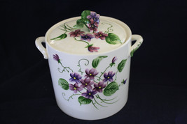 Vintage Lefton Sweet Violets Cookie Jar #2853 - $350.00