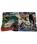 """Marvel Avengers and Spiderman 9"""" x 10"""" 48 pieces Jigsaw Puzzle Kids Travel. - $8.90"""