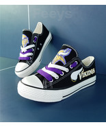 Minnesota Vikings shoes Vikings sneakers Fashion Christmas gift birthday... - $55.00+