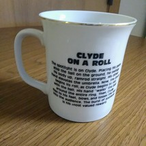 "Whimsical The World of Clowns presents"" Clyde On A Roll LMI 1984 Mug/Cup""    image 7"