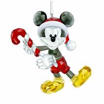 NIB $239 SWAROVSKI 2018 Disney Mickey Mouse Christmas Tree Ornament  5412847 NEW