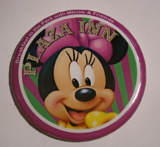 Breakfast in the Park with Minnie & Friends PLAZA INN Button - $8.00
