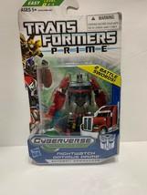 Transformers Hasbro PRIME Cyberverse Commander W4 Nightwatch Optimus Pri... - $28.99