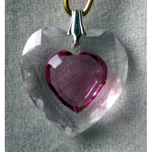 18mm Enhanced Crystal Flat Heart Hair Jewel image 4