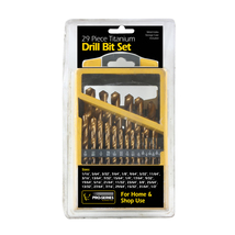 Pro-Series 29 Piece Titanium Drill Bit Set - $34.61