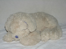 CLOUD B LAVENDER LAB  STUFFED PLUSH PUPPY DOG CREAM IVORY BEIGE PURPLE C... - $32.91