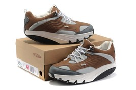 Women's Shoes  MBT Chapa Brown and White - $98.00