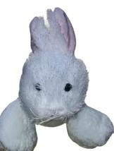 White Bunny Rabbit Webkinz HM078 Stuffed Beanbag Animal Plush No Code - $8.90