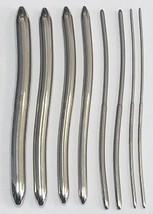 Lot of 8 Miltex Hegar Double End Uterine Dilators 3,4,5,6,10,11,12,13,14... - $89.05