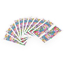 10pcs Flower Nail Decals Art Water Transfer Stickers(#4) - $7.25
