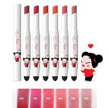 Karadium Pucca Love Edition Smudging Velvet Matte Long Lasting Lip Tint Stick 1. image 2
