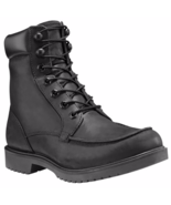 Timberland Men's Elmstead 6-Inch Leather Waterproof Black Boots A17W9 - $89.99
