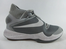 014 820224 Zoom Sz 5 10 2016 Wolf White Grey Hyperrev Mens Basketball Nike Shoes fgx86zqZx