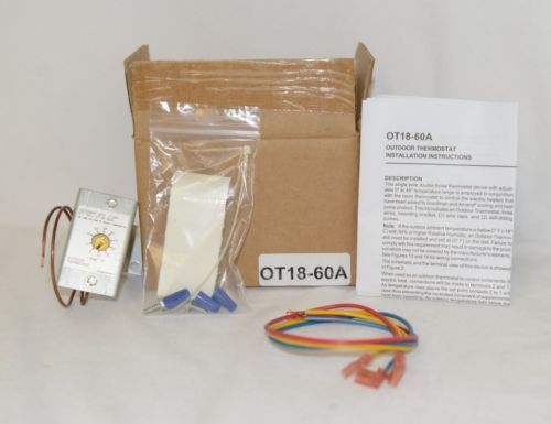 Goodman OT1860A Outdoor Single Pole Double Throw Thermostat Device
