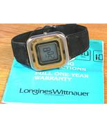 Longines Wittnauer Original Swiss Vintage LCD Men's Wrist Watch w/ Box &... - $299.25